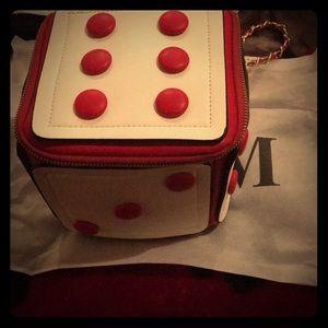 Handbags - Dice theme shoulder bag/ clutch